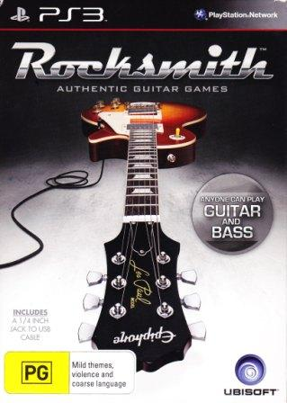 Rocksmith guitar game
