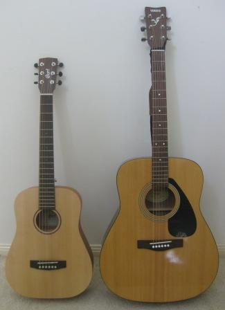 Cort Vs Yamaha Acoustic Guitar